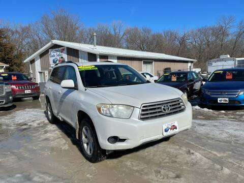 2008 Toyota Highlander for sale at Victor's Auto Sales Inc. in Indianola IA