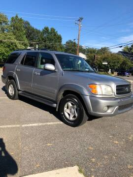 2002 Toyota Sequoia for sale at All American Imports in Arlington VA