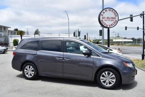 2015 Honda Odyssey for sale at San Mateo Auto Sales in San Mateo CA