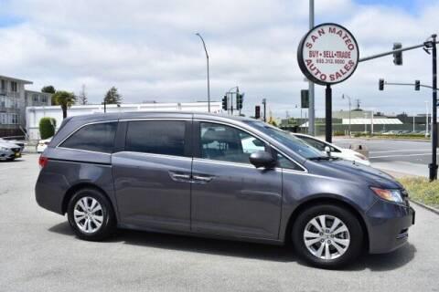2015 Honda Odyssey for sale at San Mateo Auto Sales in San Mateo CA