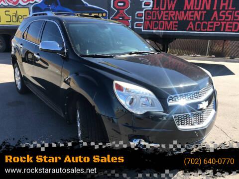 2010 Chevrolet Equinox for sale at Rock Star Auto Sales in Las Vegas NV