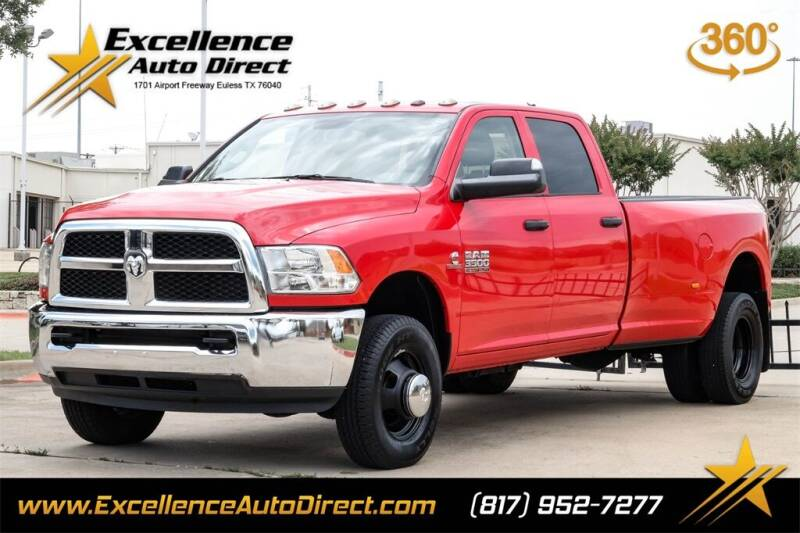 2017 RAM Ram Pickup 3500 for sale at Excellence Auto Direct in Euless TX