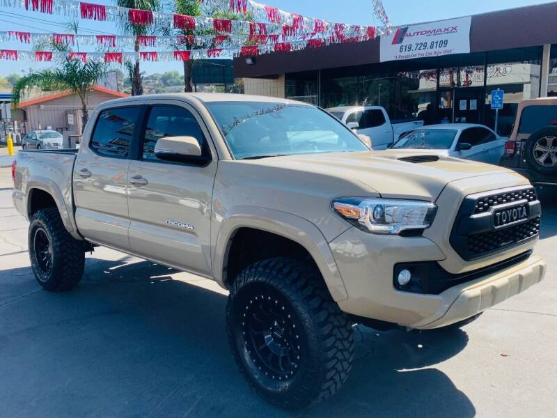 2018 Toyota Tacoma for sale at Automaxx Of San Diego in Spring Valley CA