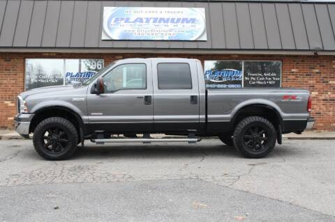 2007 Ford F-250 Super Duty for sale at Platinum Auto World in Fredericksburg VA