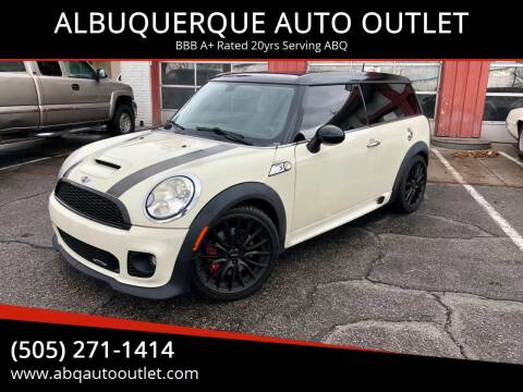 2010 MINI Cooper Clubman for sale at ALBUQUERQUE AUTO OUTLET in Albuquerque NM