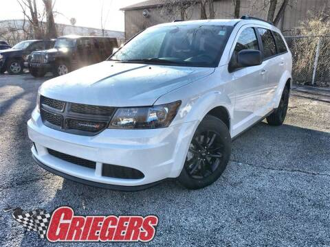 2020 Dodge Journey for sale at GRIEGER'S MOTOR SALES CHRYSLER DODGE JEEP RAM in Valparaiso IN