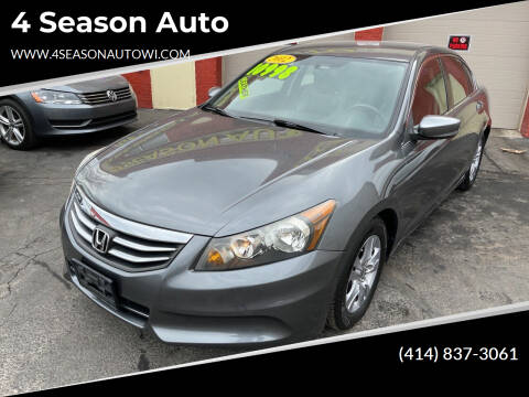 2012 Honda Accord for sale at 4 Season Auto in Milwaukee WI
