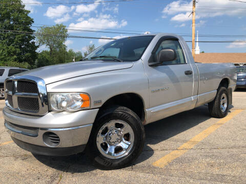 2005 Dodge Ram Pickup 1500 for sale at J's Auto Exchange in Derry NH