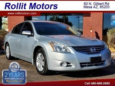 2010 Nissan Altima for sale at Rollit Motors in Mesa AZ