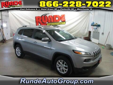 2014 Jeep Cherokee for sale at Runde PreDriven in Hazel Green WI
