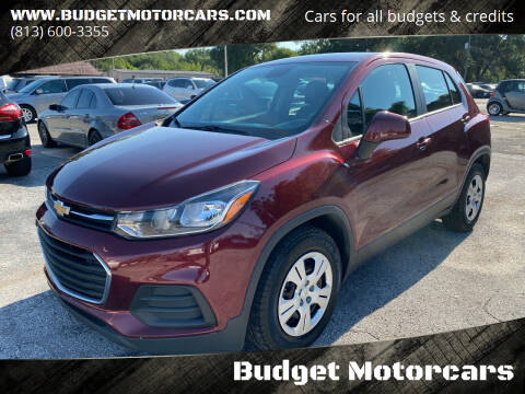 2017 Chevrolet Trax for sale at Budget Motorcars in Tampa FL