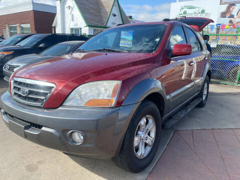 2008 Kia Sorento for sale at GO GREEN MOTORS in Denver CO