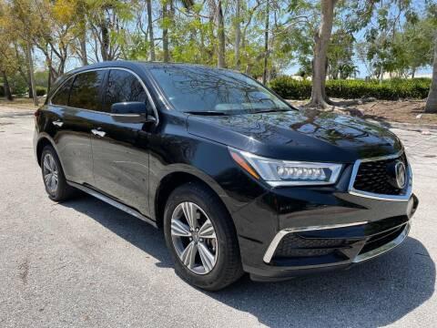 2019 Acura MDX for sale at DELRAY AUTO MALL in Delray Beach FL