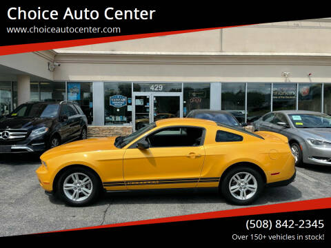 2011 Ford Mustang for sale at Choice Auto Center in Shrewsbury MA