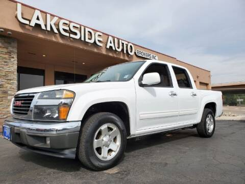 2012 GMC Canyon for sale at Lakeside Auto Brokers Inc. in Colorado Springs CO