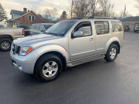 2005 Nissan Pathfinder for sale at KP'S Cars in Staunton VA