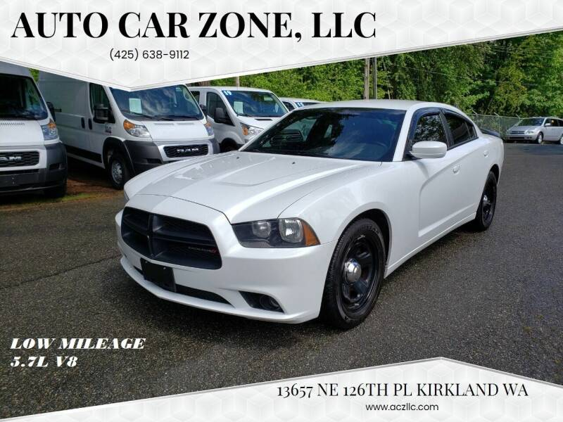 2012 Dodge Charger for sale at Auto Car Zone, LLC in Kirkland WA