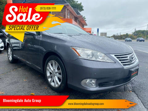 2012 Lexus ES 350 for sale at Bloomingdale Auto Group - The Car House in Butler NJ