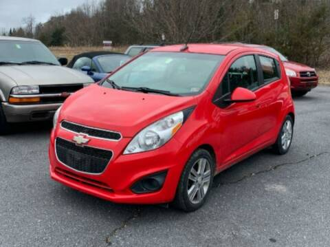 2013 Chevrolet Spark for sale at BSA Pre-Owned Autos LLC in Hinton WV