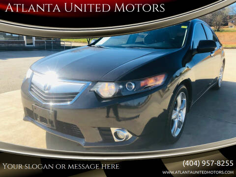 2013 Acura TSX for sale at Atlanta United Motors in Jefferson GA
