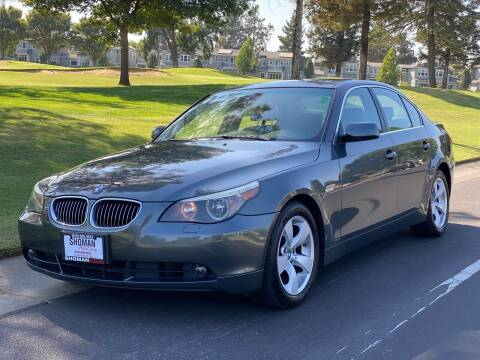 2007 BMW 5 Series for sale at SHOMAN MOTORS in Davis CA