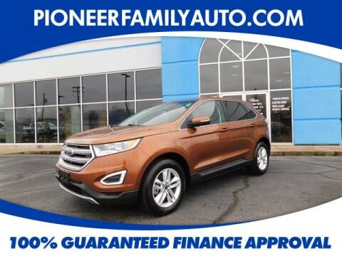 2017 Ford Edge for sale at Pioneer Family auto in Marietta OH