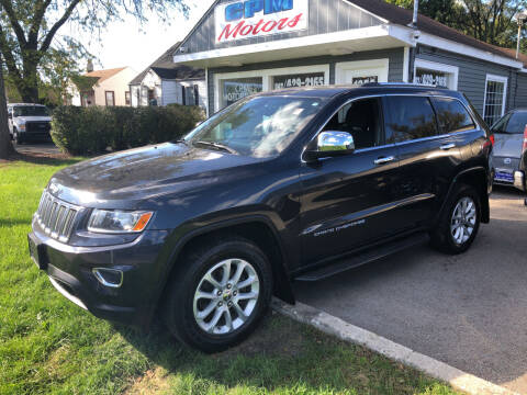 2014 Jeep Grand Cherokee for sale at CPM Motors Inc in Elgin IL