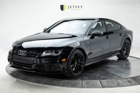 2015 Audi S7 for sale at Jetset Automotive in Cedar Rapids IA