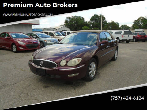 2006 Buick LaCrosse for sale at Premium Auto Brokers in Virginia Beach VA