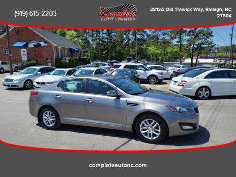 2013 Kia Optima for sale at Complete Auto Center , Inc in Raleigh NC
