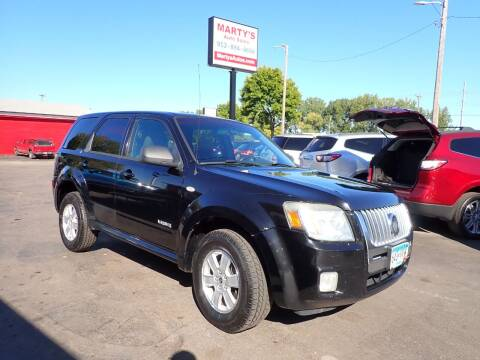 2008 Mercury Mariner for sale at Marty's Auto Sales in Savage MN