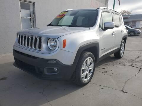 2015 Jeep Renegade for sale at CHURCHILL AUTO SALES in Fallon NV