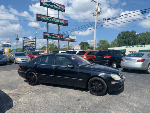 2003 Mercedes-Benz S-Class for sale at Boardman Auto Mall in Boardman OH
