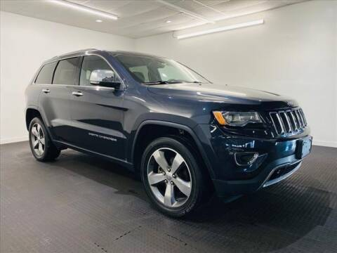 2016 Jeep Grand Cherokee for sale at Champagne Motor Car Company in Willimantic CT