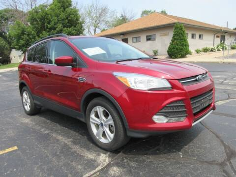 2015 Ford Escape for sale at Fox River Motors, Inc in Green Bay WI