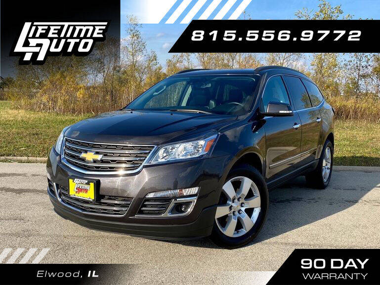 2014 Chevrolet Traverse for sale at Lifetime Auto in Elwood IL
