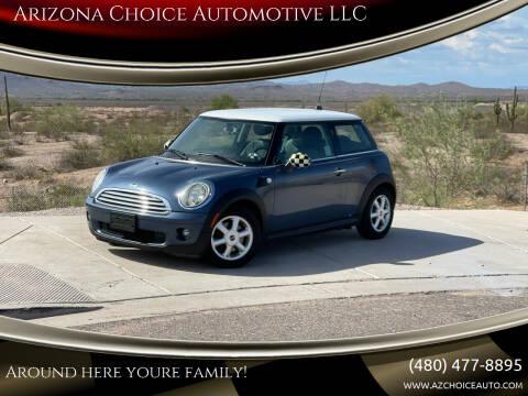 2009 MINI Cooper for sale at Arizona Choice Automotive LLC in Mesa AZ