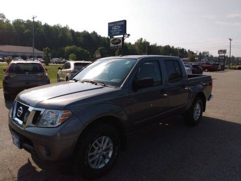 2017 Nissan Frontier for sale at Ripley & Fletcher Pre-Owned Sales & Service in Farmington ME