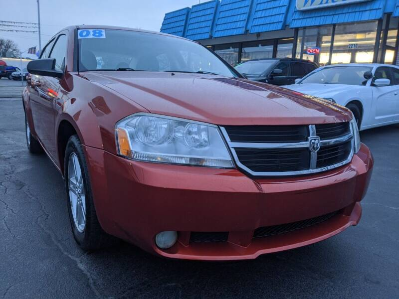 2008 Dodge Avenger for sale at GREAT DEALS ON WHEELS in Michigan City IN