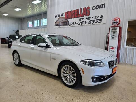 2015 BMW 5 Series for sale at Kinsellas Auto Sales in Rochester MN