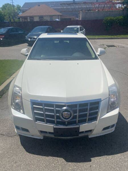 2012 Cadillac CTS for sale at The Car-Mart in Murray UT