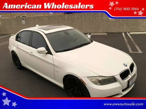 2010 BMW 3 Series for sale at American Wholesalers in Huntington Beach CA
