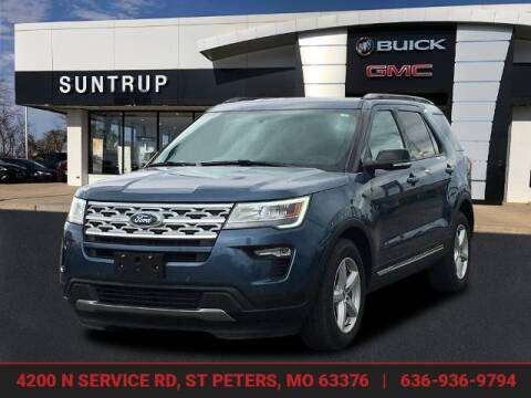 2018 Ford Explorer for sale at SUNTRUP BUICK GMC in Saint Peters MO
