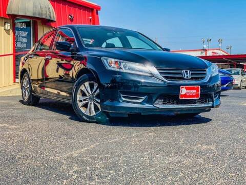 2014 Honda Accord for sale at MAGNA CUM LAUDE AUTO COMPANY in Lubbock TX