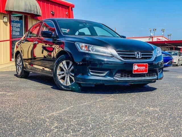 2014 Honda Accord for sale at MAGNA CUM LAUDE AUTO COMPANY in Lubbock TX