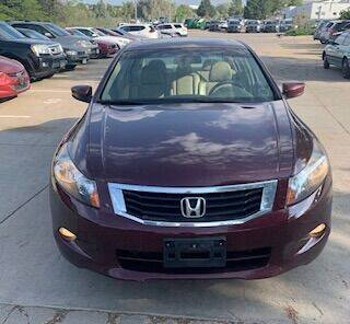 2008 Honda Accord for sale at Utah Credit Approval Auto Sales in Murray UT