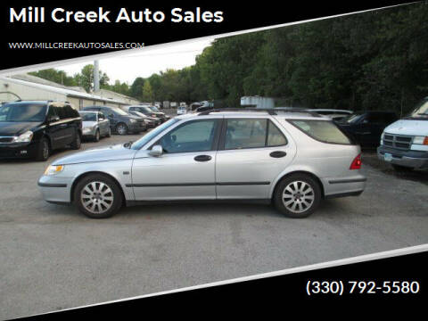 2003 Saab 9-5 for sale at Mill Creek Auto Sales in Youngstown OH