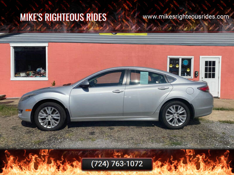 2010 Mazda MAZDA6 for sale at Mike's Righteous Rides in Mc Grann PA