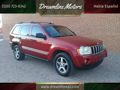 2005 Jeep Grand Cherokee for sale at Dreamline Motors in Coolidge AZ