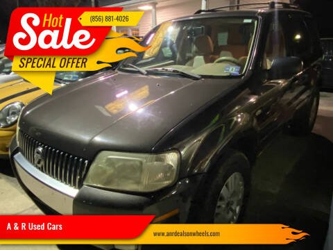 2007 Mercury Mariner for sale at A & R Used Cars in Clayton NJ